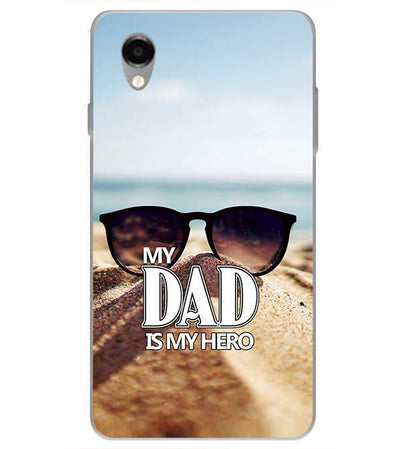 Dad is My Hero Back Cover for ITEL PWO Pro