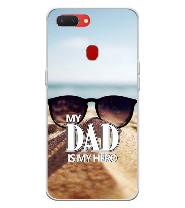 Dad is My Hero Back Cover for Oppo Realme 2 Pro-Image3
