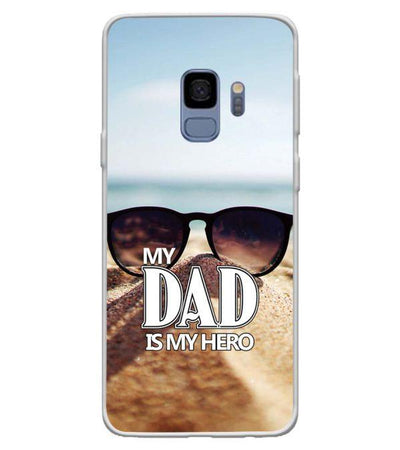 Dad is My Hero Back Cover for Samsung Galaxy S9