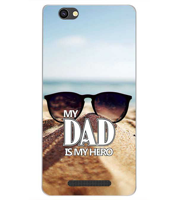 hot sale online aa569 9a13e Dad is My Hero Back Cover for Xolo Era 4G