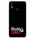 Daddy's Girl Soft Silicone Back Cover for Vivo X21