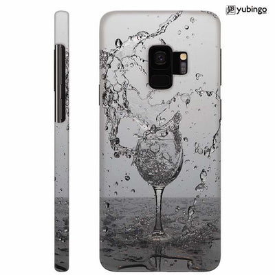 Dancing Water Back Cover for Samsung Galaxy S9