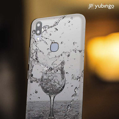 Dancing Water Back Cover for Vivo X21-Image4