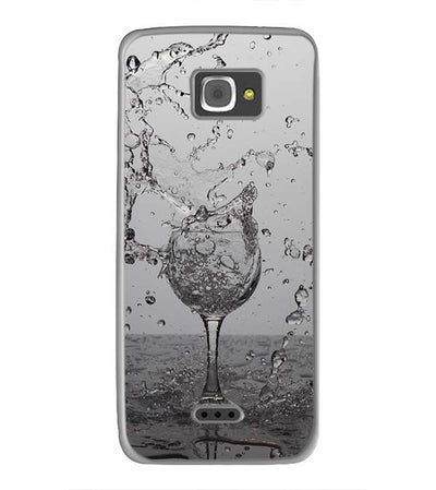 Dancing Water Back Cover for InFocus M350