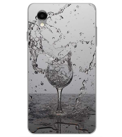 Dancing Water Back Cover for ITEL PWO Pro