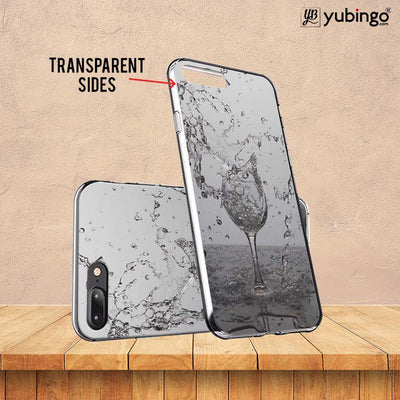 Dancing Water Back Cover for ITEL PWO Pro-Image3