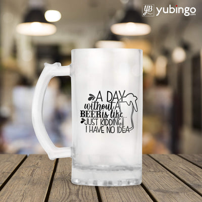 Day Without Beer Beer Mug-Image3