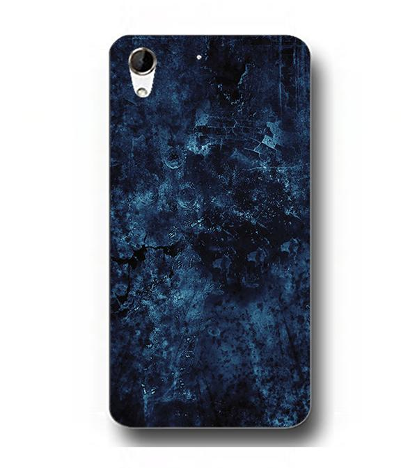reputable site 7e45c d627f Blue Pattern Collection Back Cover for HTC Desire 728