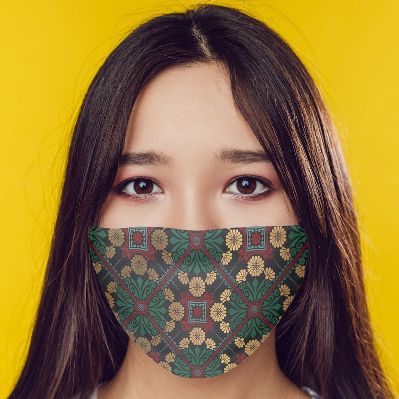 Designer Pattern Mask