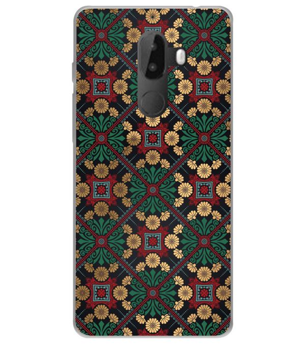 Designer Pattern Soft Silicone Back Cover for 10.or G (Tenor G)