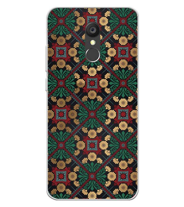 Designer Pattern Soft Silicone Back Cover for Panasonic Eluga Ray 550