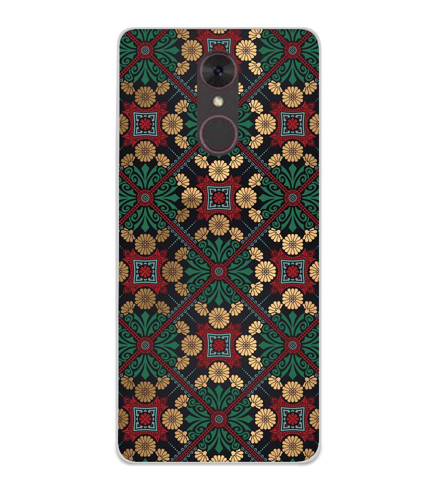 huge selection of 9e9e9 497c2 Designer Pattern Soft Silicone Back Cover for Spice F311