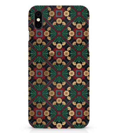 Designer Pattern Back Cover for Apple iPhone X