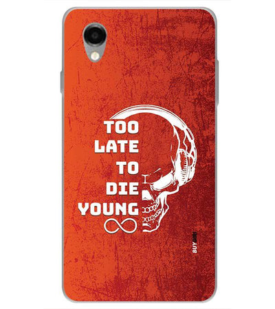 Die Young Back Cover for ITEL PWO Pro