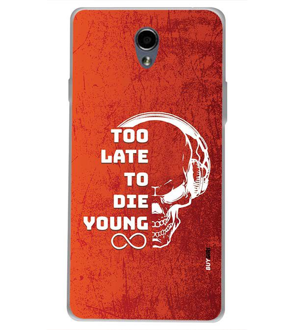 new styles a0b94 f6036 Die Young Back Cover for Oppo Joy 3