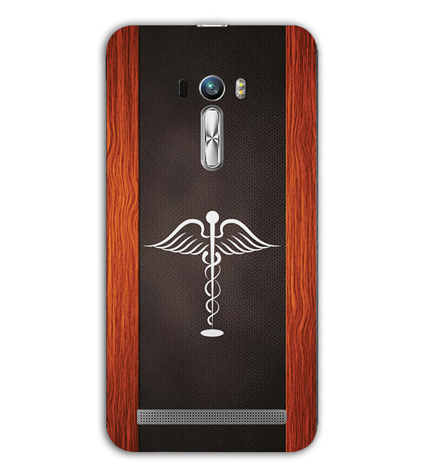 Doctor Symbol Back Cover for Asus Zenfone Selfie