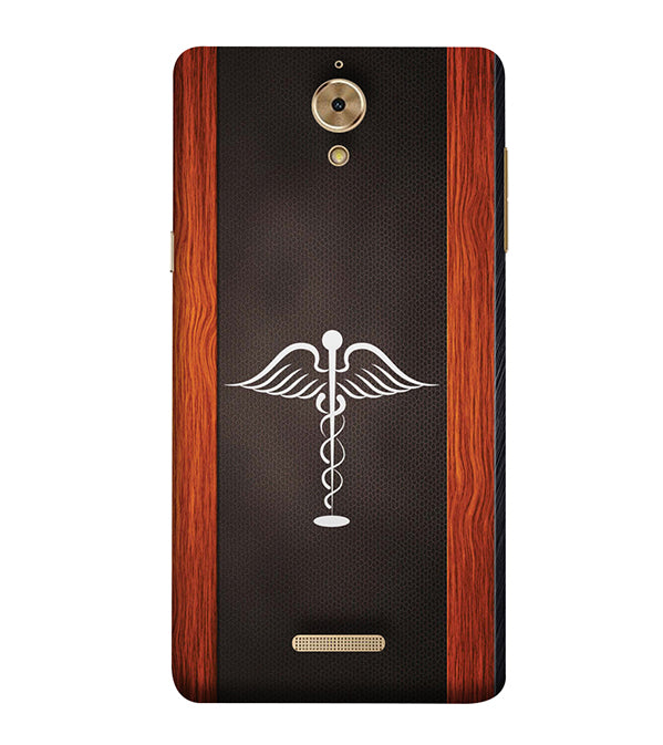 Doctor Symbol Back Cover for Coolpad Mega 2.5D