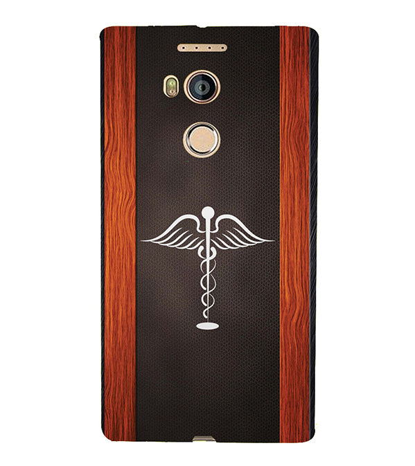 Doctor Symbol Back Cover for Gionee Elife E8