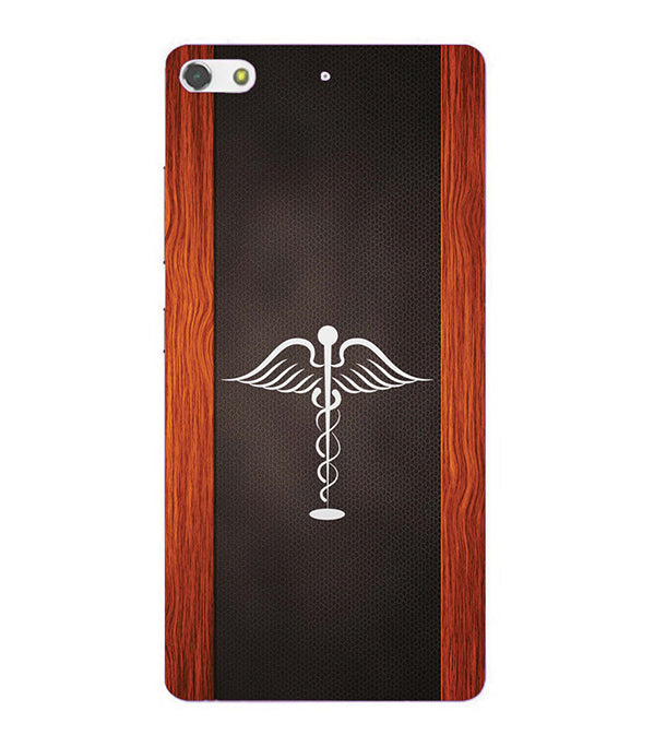 Doctor Symbol Back Cover for Gionee Elife S7