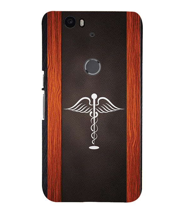 Doctor Symbol Back Cover for Google Nexus 6P
