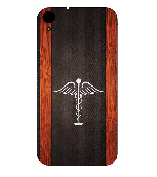 sports shoes 5b846 a7e96 Doctor Symbol Back Cover for HTC Desire 830