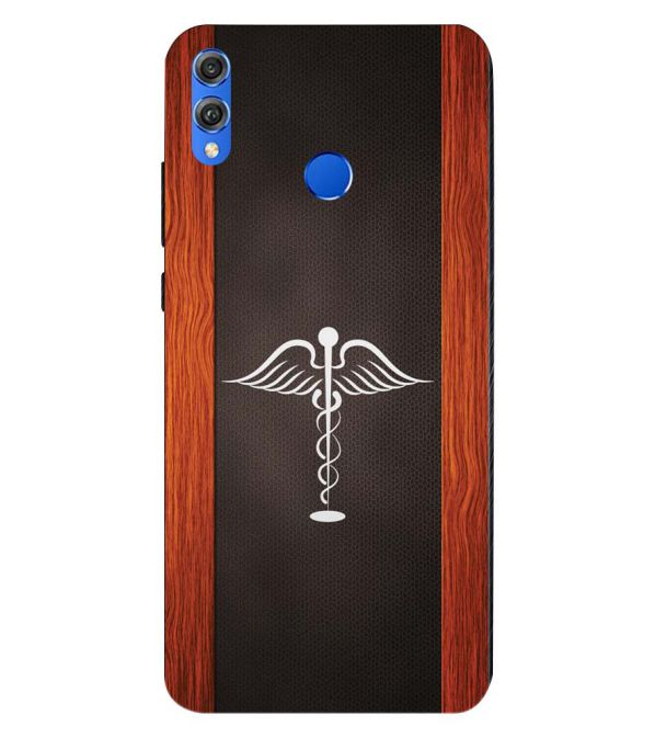 Doctor Symbol Back Cover for Huawei Honor 8X