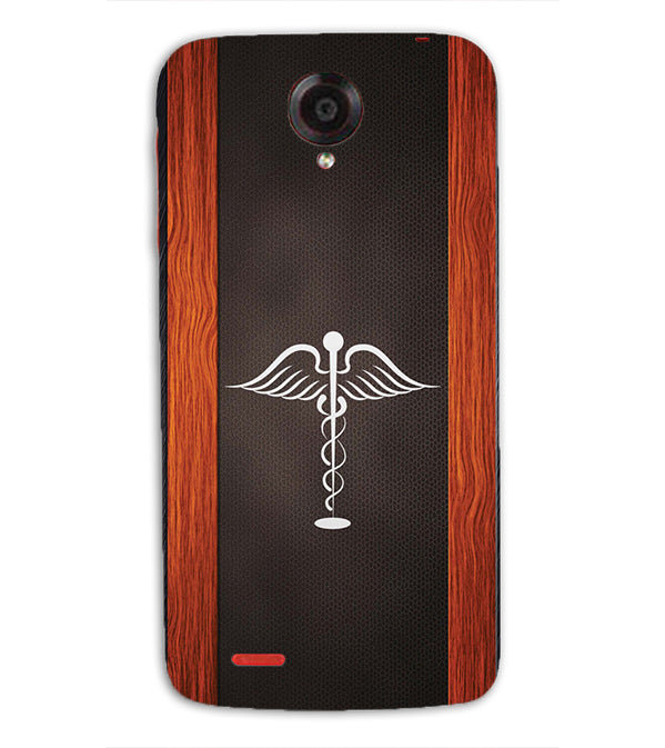 Doctor Symbol Back Cover for Lenovo S820