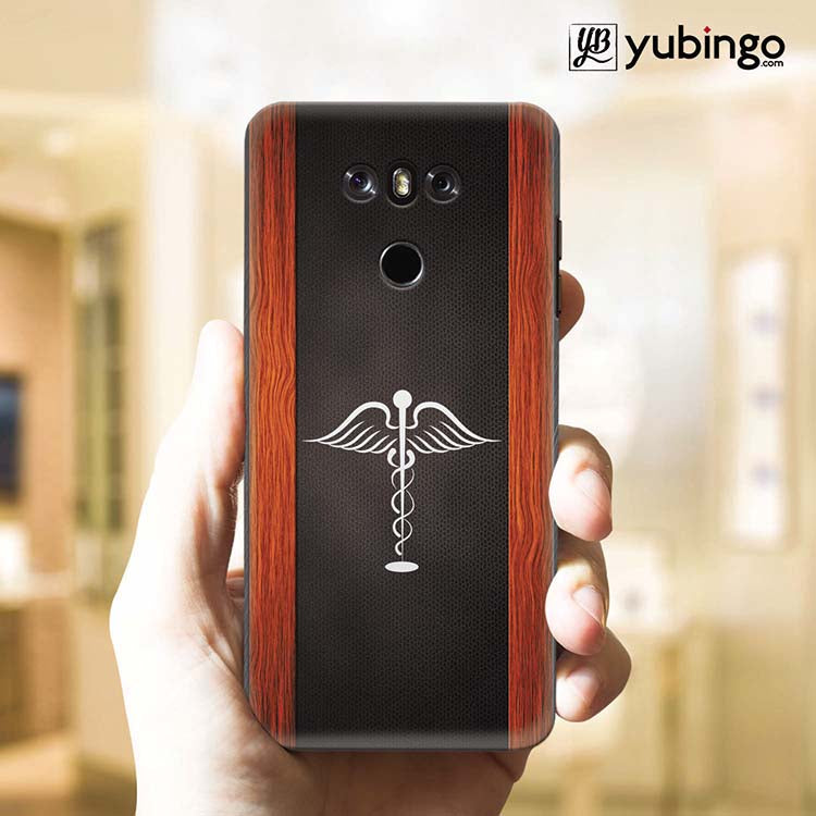 Doctor Symbol Back Cover for LG G6