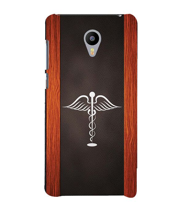 Doctor Symbol Back Cover for Meizu M3 Note