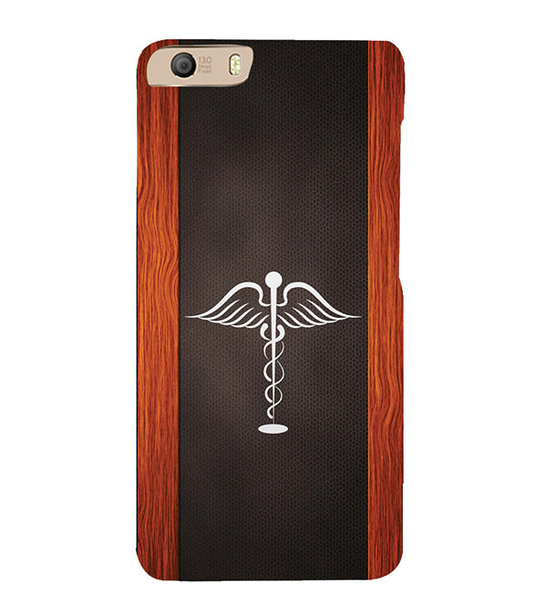 new product d82b8 8735f Doctor Symbol Back Cover for Micromax Canvas Knight 2 E471