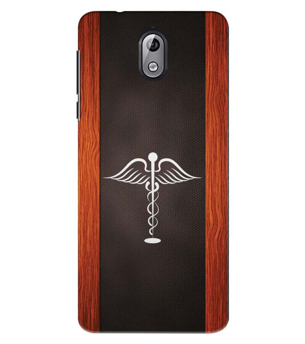 Doctor Symbol Back Cover for Nokia 3.1 (2018)