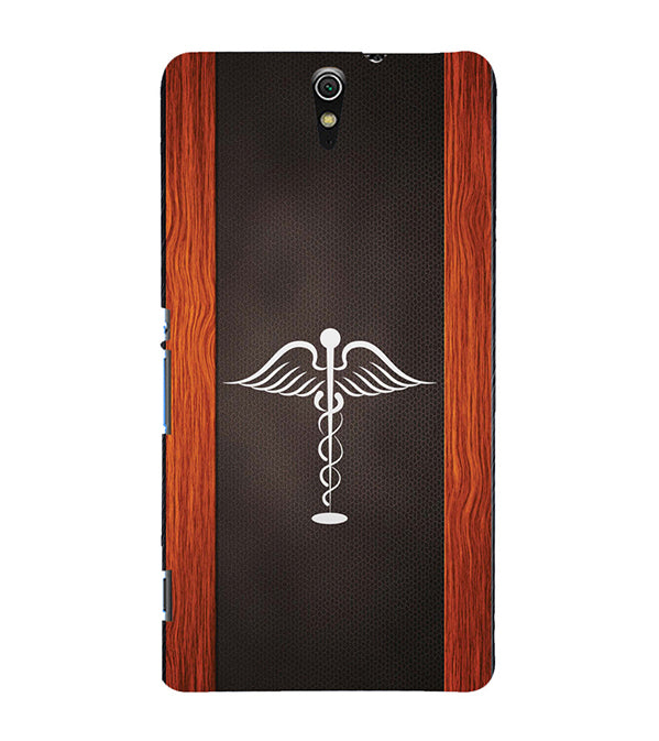 Doctor Symbol Back Cover for Sony Xperia C5