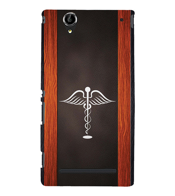Doctor Symbol Back Cover for Sony Xperia T2