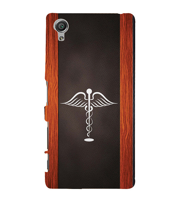 Doctor Symbol Back Cover for Sony Xperia X