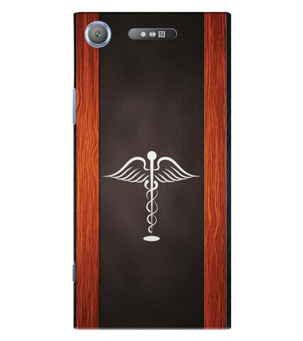 Doctor Symbol Back Cover for Sony Xperia XZ1