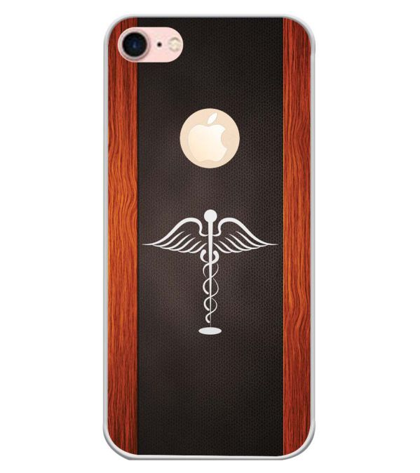 Doctor Symbol Back Cover for Apple iPhone 7 (Logo)-Image3