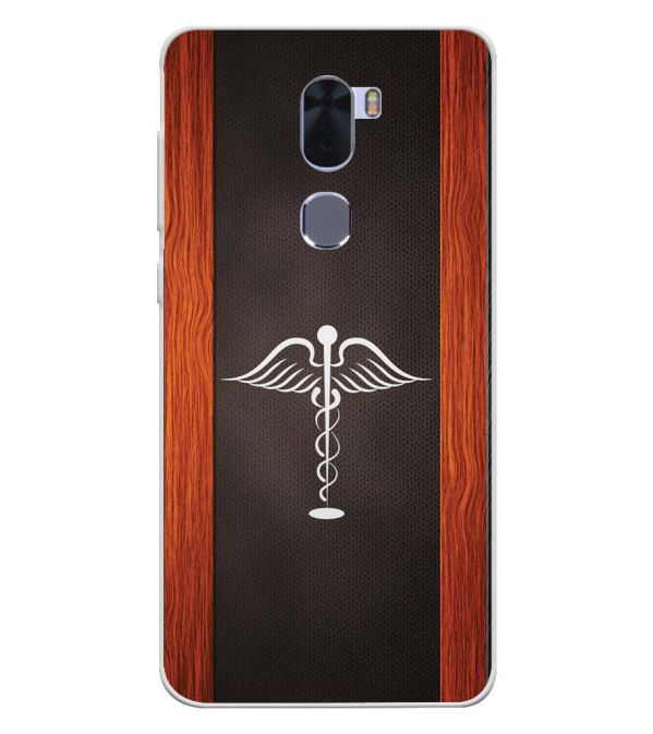 Doctor Symbol Soft Silicone Back Cover for Coolpad Cool 1