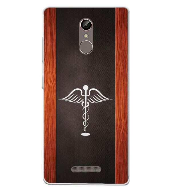Doctor Symbol Soft Silicone Back Cover for Gionee S6s