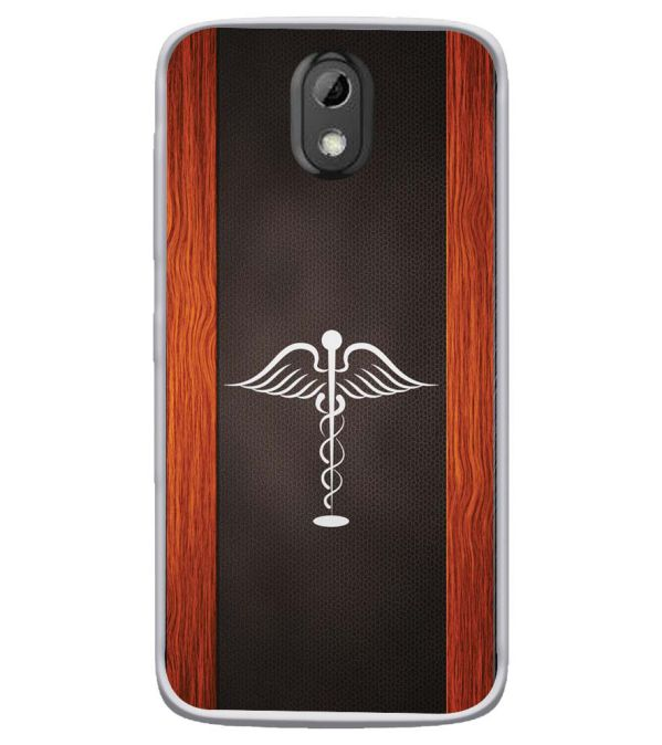 Doctor Symbol Soft Silicone Back Cover for HTC Desire 526