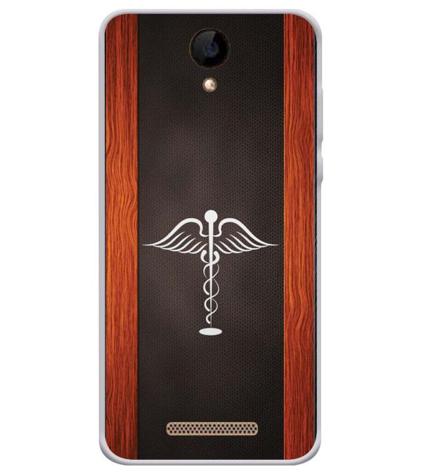 Doctor Symbol Soft Silicone Back Cover for iVOOMi 505