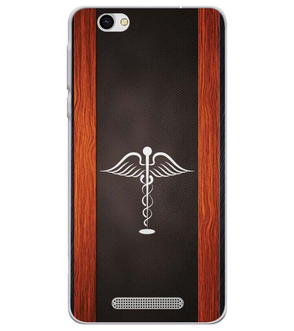 Doctor Symbol Soft Silicone Back Cover for Lava X28
