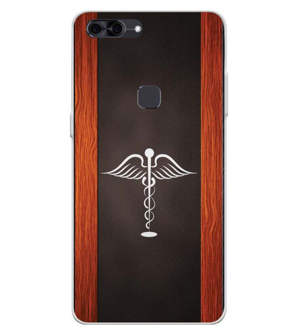 Doctor Symbol Soft Silicone Back Cover for Lava Z90