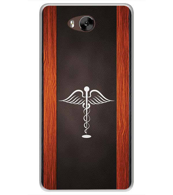 Doctor Symbol Soft Silicone Back Cover for LYF Wind 4s