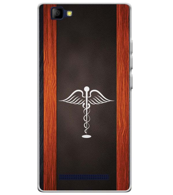 Doctor Symbol Soft Silicone Back Cover for Lyf Wind 7S