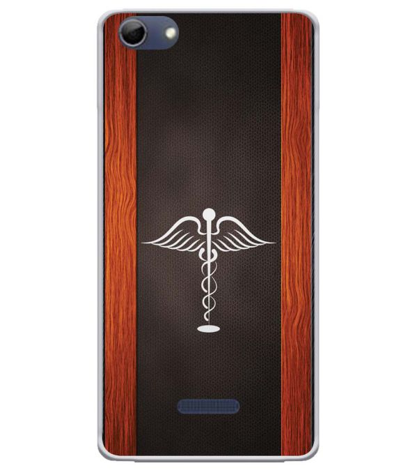 Doctor Symbol Soft Silicone Back Cover for Micromax Selfie 3 Q348