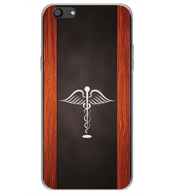 Doctor Symbol Back Cover for Oppo A77