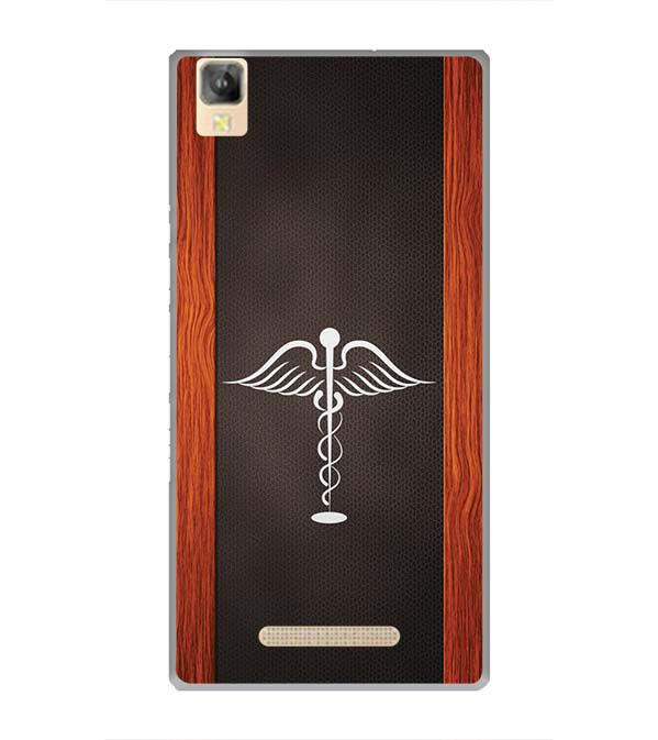 Doctor Symbol Back Cover for Panasonic Eluga A2