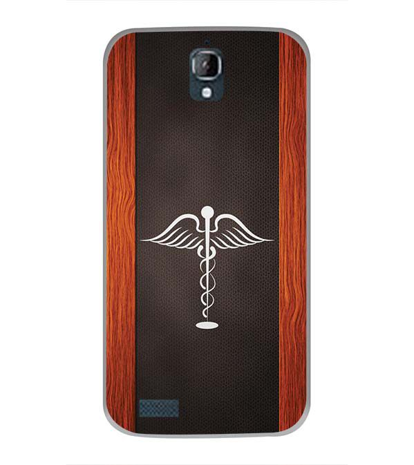 Doctor Symbol Back Cover for Panasonic Eluga Icon