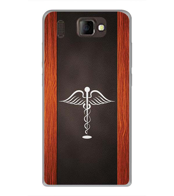 Doctor Symbol Back Cover for Panasonic P66 Mega