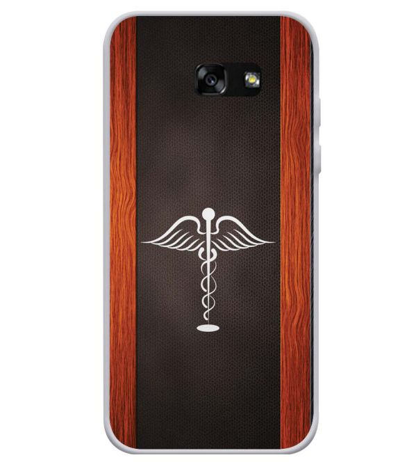 Doctor Symbol Soft Silicone Back Cover for Samsung Galaxy A3 (2017)